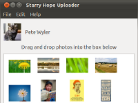 Starry Hope Uploader