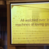 All watched over by machines of loving grace?