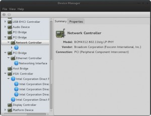 Device manager Linux