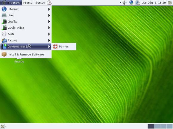Mageia Linux radna površina