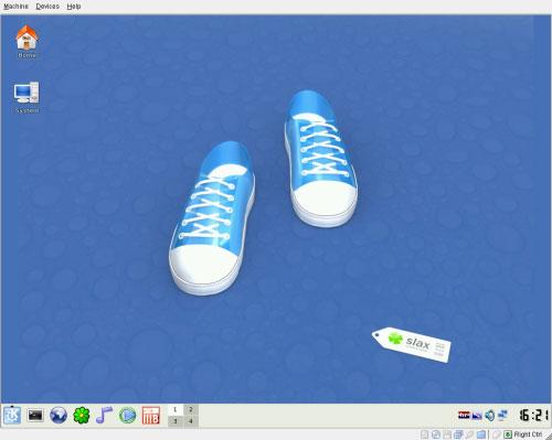 Slax 6.0 Desktop
