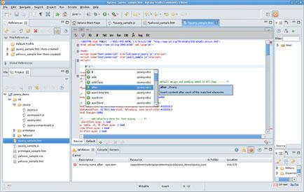 Aptana razvojni IDE