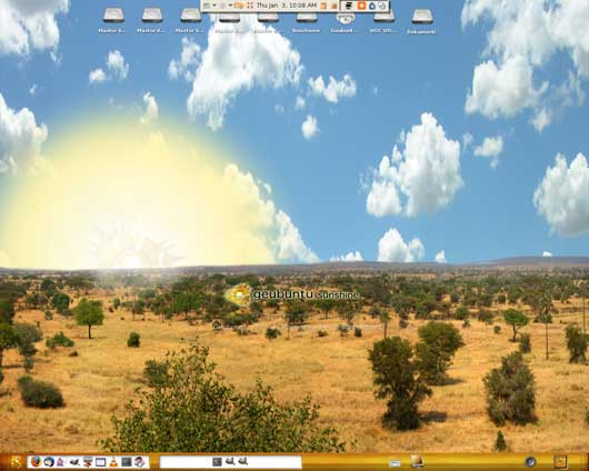 GeUbuntu desktop