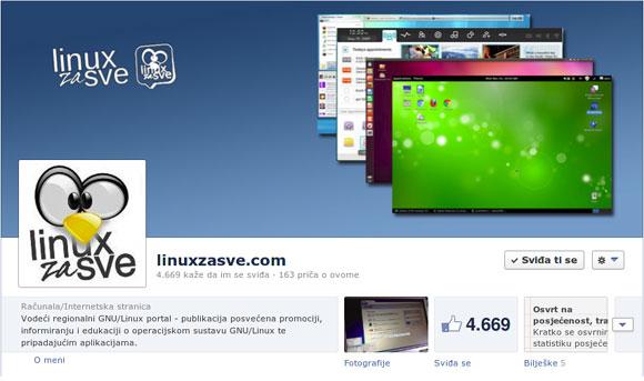 Aktivni smo na većini društvenih mreža, uključujući Facebook