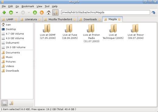 PCMan upravitelj datotekama