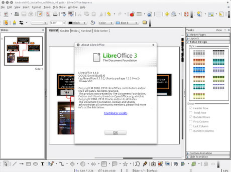 Libre Office 3.5