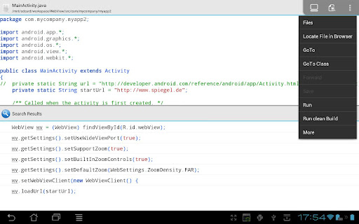 Develop Android Apps on Android with AIDE - the Android Java IDE