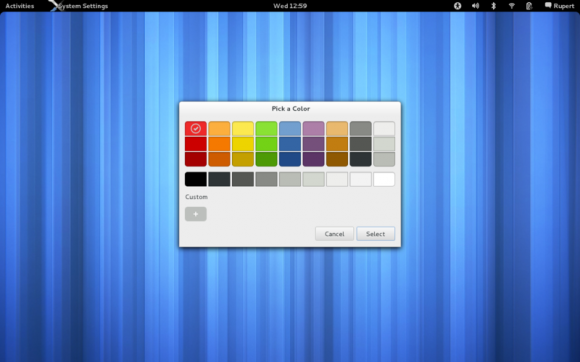 GNOME 3 Color Chooser
