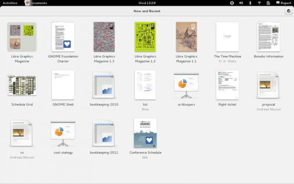 GNOME 3.4 Documents