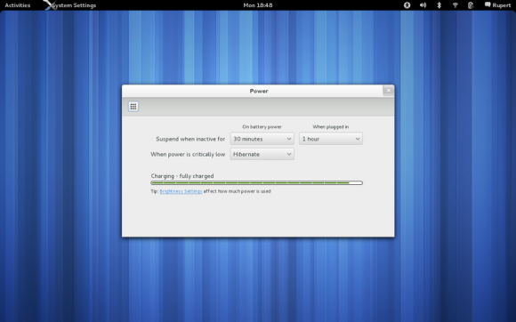 GNOME 3.4 Settings