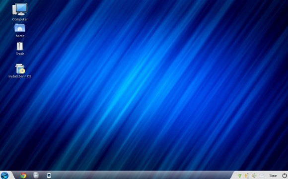 Zorin OS Desktop površina