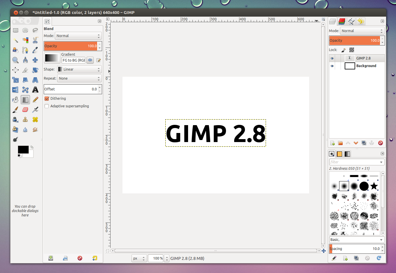 how to save as pdf in gimp