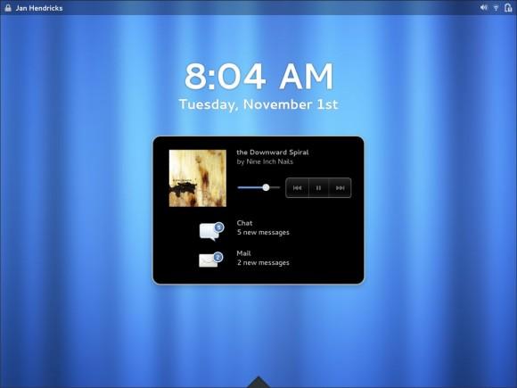 Redizajnirani lockscreen