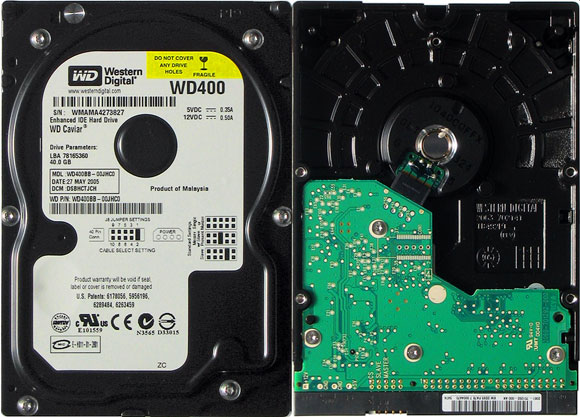 Hard Disk Western Digital WD