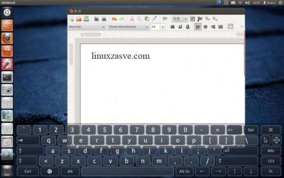 Ubuntu na SmartQ T20 tabletu