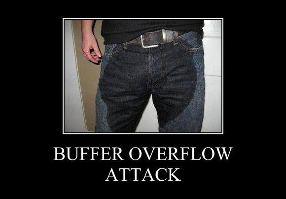 Buffer Overflow meme funny