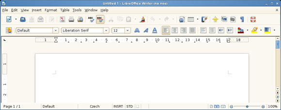 LibreOffice 3.6 Writer