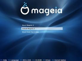 Mageia GRUB
