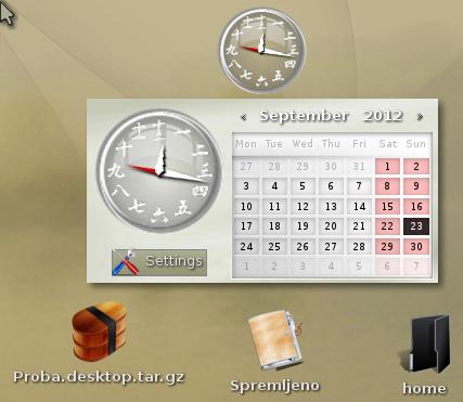Bodhi - Ikone na desktopu