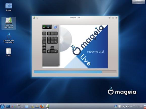mageia proces instalacije