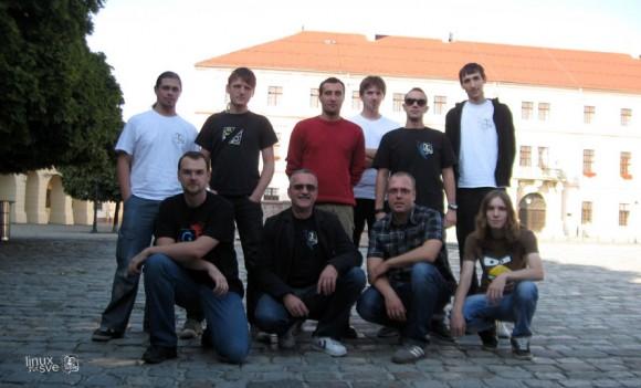 """Okupljanje """"Linux za Sve"""" ekipe u Osijeku, 23.9.2012."""