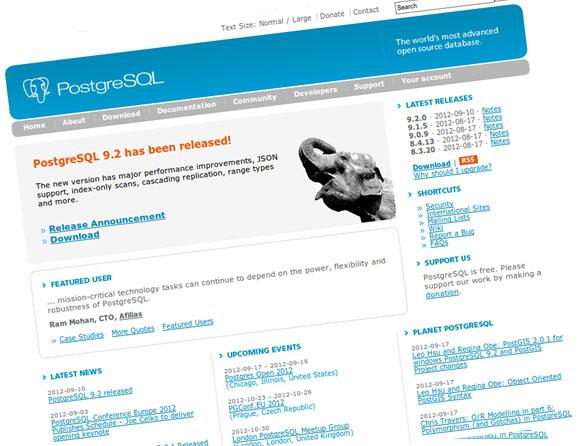 Objavljen PostgreSQL 9.2