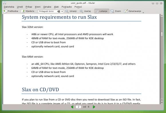 Sistemski zahtjevi