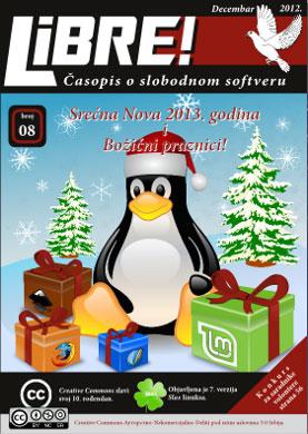 osmi broj e-časopisa o slobodnom softveru – LIBRE!