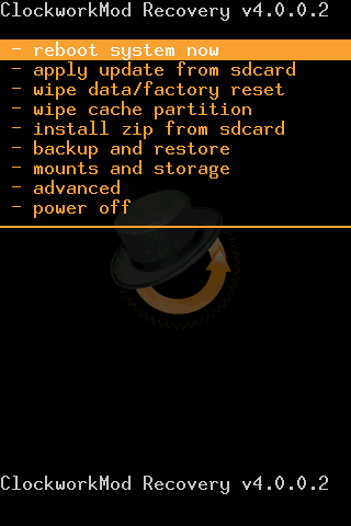 Clockworkmod Recovery za Android