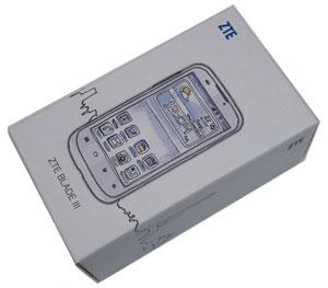 ZTE Blade III box