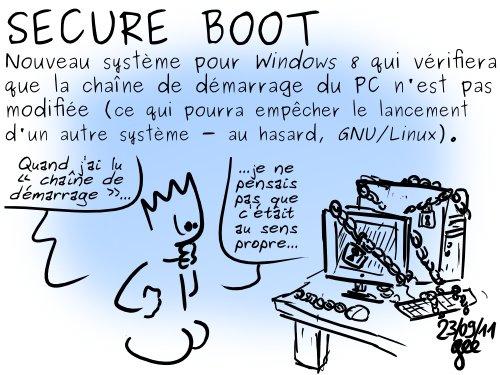 Mislim da ne treba prevoditi. Vaše je računalo sigurno, ali ćete Linux teško instalirati.