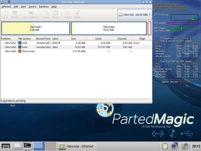 parted magic software free download