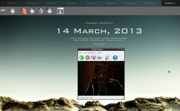 Enable Viacam Linux