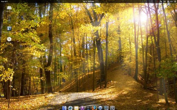 Pear Linux 7 - desktop