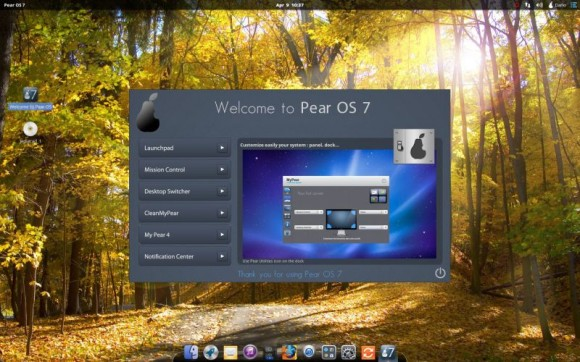 Pear Linux 7 - Welcome to Pear OS 7 - My Pear 4