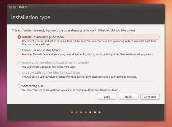 Instalacija uz drugi operativni sustav je krajnje jednostavna