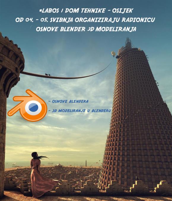 Blender radionica u Osijeku