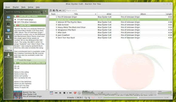 Clementine Music Player Linux