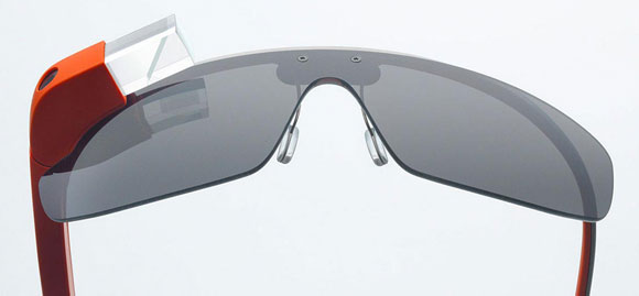 Google Glass Sun protection