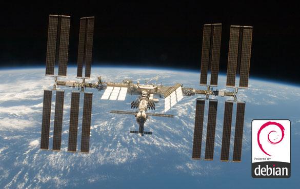NASA ISS Debian Linux