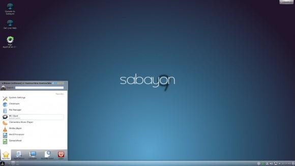 Sabayon u KDE izdanju