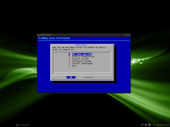 ArchBang instaler