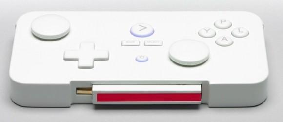 Gamestick kontroler s umetnutim Android miniračunalom