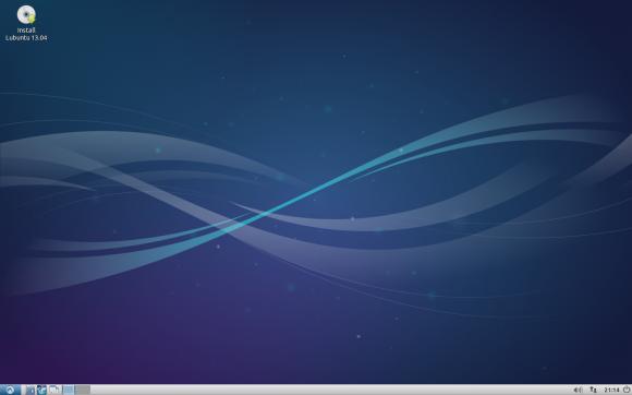 Lubuntu 13.04 (Slika je preuzeta s Wikipedije)