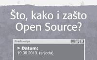 """predavanje """"Što, kako i zašto Open Source"""""""