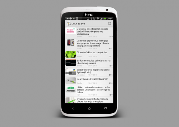 LZS aplikacija za Android