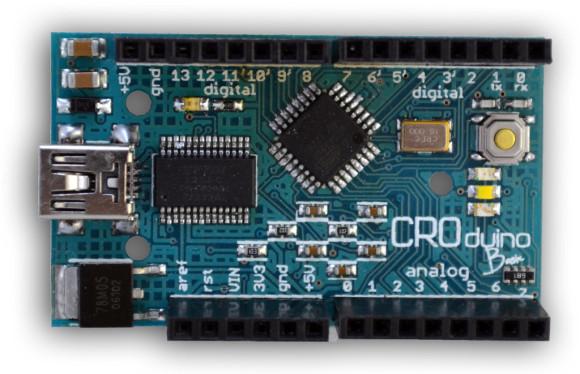 Croduino Basic - hrvatska inačica Arduino pločice