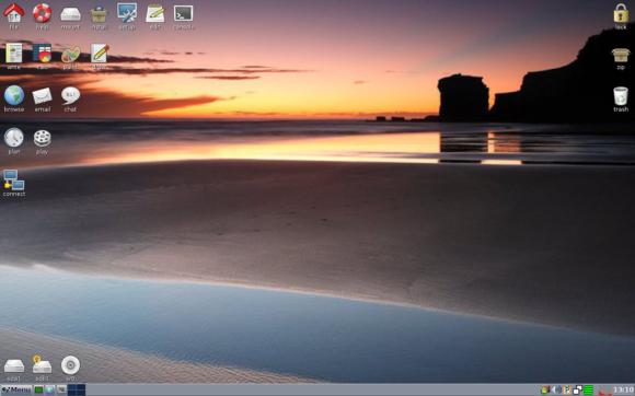 Puppy Linux Slacko 5.6 (Slika je preuzeta s Wikipedije)