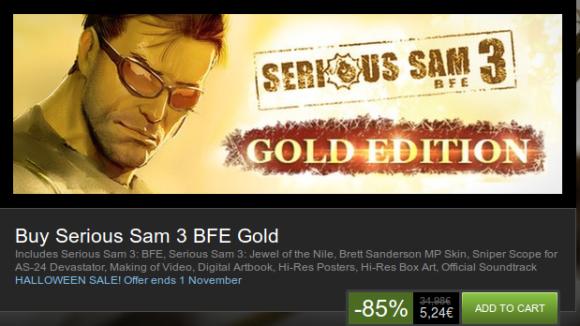 Serious SAM 3 BFE Gold