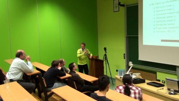 Predavanje na prošlogodišnjem LKLK-u
